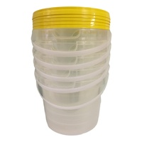 3kg honey tubs with handle - 5 pack