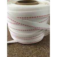 Poly woven strapping per metre
